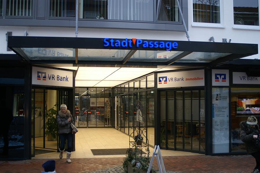 Holm Stahl Und Metallbau Flensburg Vr Bank Passage